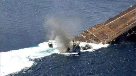 2.6亿航母沦为试验品,狂轰滥炸25天,沉入大西洋海底