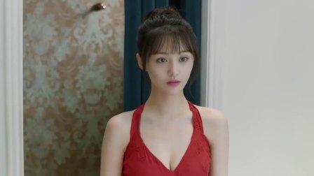 微微:女孩换了条红裙子,一出来就惊艳了室友,太美了