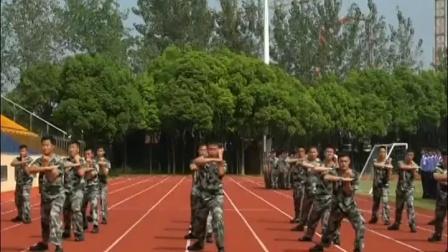 视频|松江公安举办勤务辅警岗前培训会操演练
