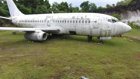 男子花50万买了架荒废飞机,以为是有钱闲的,打开舱门却是赚大了