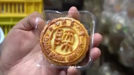 都市晚高峰 2019 陕西西安:高校自制校徽月饼  6万块免费送学生