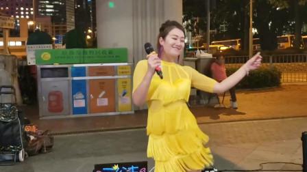 屯门歌手大公主芯依演唱《一人有一个梦想》,很好听的一首歌曲