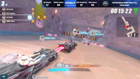 QQ飞车:职业比赛就是玩心跳,长城展开激烈追逐