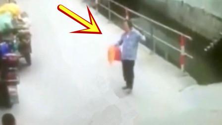 女子回家路上意外溺亡,家人回看监控后,不能接受!