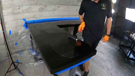 普通桌面如何做出大理石的质感?这家公司的工作,有点舒适哇