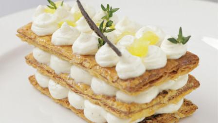 酥脆可口的香草千层酥,是法式下午茶不二之选