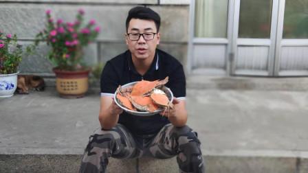 螃蟹哪里不能吃?小马来告诉您,用老干妈拌蟹肉真是好主意