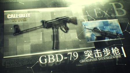 GBD-79突击步枪『COD二战』武器指南 番外篇EX.11