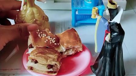 宝宝喜欢玩具:红豆糕点到底是哪位公主买来的