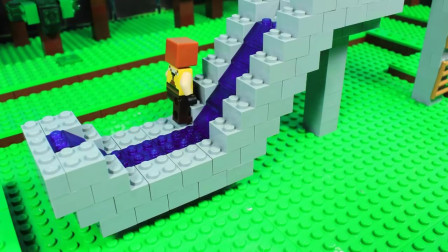 我的世界动画-乐高水滑梯挑战-Titan Pictures