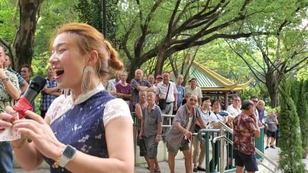 香港女歌手妙妙演唱《下定决心爱上你》,劲歌热舞全场嗨翻天