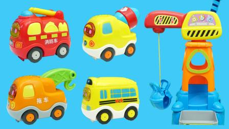 伟易达的汽车工地场景玩具