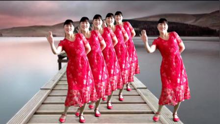 经典红歌广场舞《南泥湾》优美舞步,太好看了!