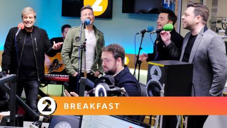 西城男孩Westlife最新电台现场献唱《Mandy》《Flying Without Wings》