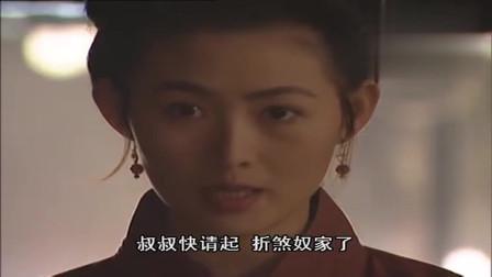 98版水浒传,莫非潘金莲对武松一见钟情,这眼神绝对骗不了人!