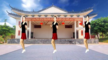 健身广场舞《朋友醉一场》动感大气,活力瘦身又好学!