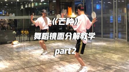 白小白编舞《芒种》舞蹈镜面分解教学part2
