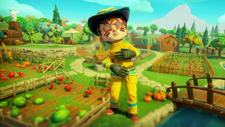 农场生存联机  又到了收获的季节 汤米乐的合不拢嘴