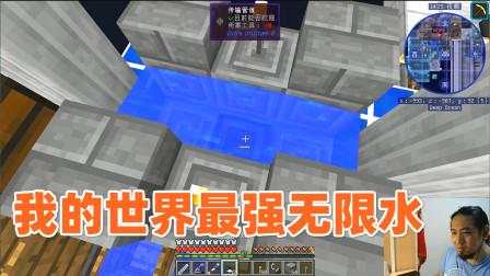 我的世界星辉空岛117 我的世界最强的无限水, 5秒做一个量子奇点