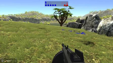 战地模拟器:在加特林的火力下,敌人根本无法靠近我们的据点