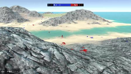 """战地模拟器""""以少胜多,多亏了有无人机,不然就输了"""