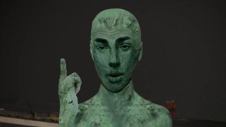《阿里奇妙夜》西溪园区的雕塑都成精了