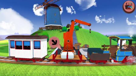 火车模拟器 驾驶火车运输物品与乘客 亲子游戏