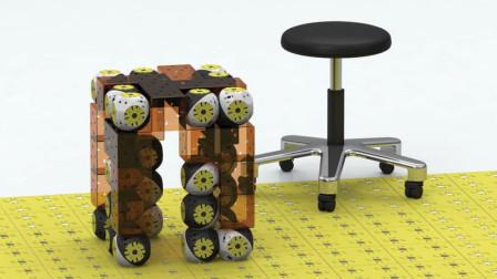 3个创意十足的家具,72变的椅子,行李箱一样的床