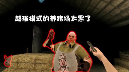 屠夫先生:超难模式的养猪场太黑了伸手不见五指啊