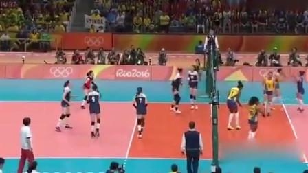 里约奥运太精彩了!女排决赛最后两分钟,惠若琪反杀啦!