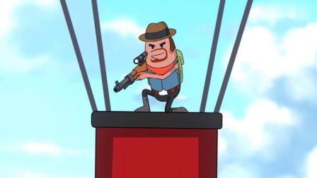 搞笑吃鸡动画:霸哥遇bug被毒死,向达达提无理要求,被达达故意陷害