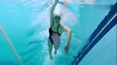 自由泳高肘抱水及常见错误,游泳新手必须要知道的,你学会了吗?