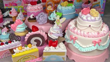 哇哦!这里有好多种美味的好吃的蛋糕,一起看看是怎么制作的吧!