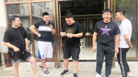 亳州杨老三,自编中秋节顺口溜送祝福,满嘴都是吉祥话,百听不厌