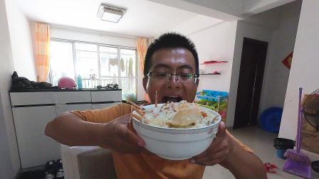 赶海抓回3~4斤大青蟹,阿锋一人吃3斤,太奢侈了