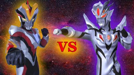 维克特利奥特曼VS黑暗无限赛罗奥特曼!奥特曼格斗进化0修改皮肤包!