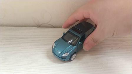 汽车玩具模型 保时捷卡宴 彩珀合金车模