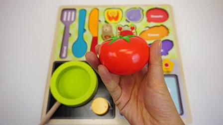 小猪佩奇:可爱木制厨房玩具,儿童切蔬菜水果过家家学习认知 北美玩具