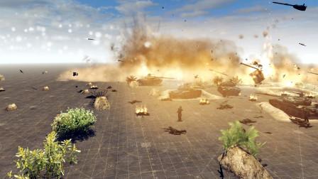 战争之人:用03式远程火箭洗地的感觉怎么样?整个阵地成火海了