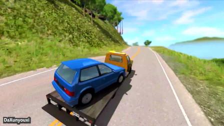 车祸模拟器:开跑车的都这么任性吗?看见车就撞