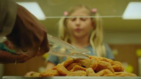 影视:无良商家贩卖变质炸鸡,小孩吃了都变异,把新老师吓坏了