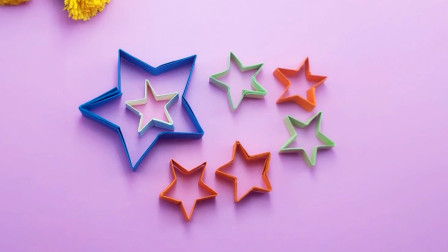 立体五角星的另一种折法,步骤也不难,简单又精致,手工折纸教程