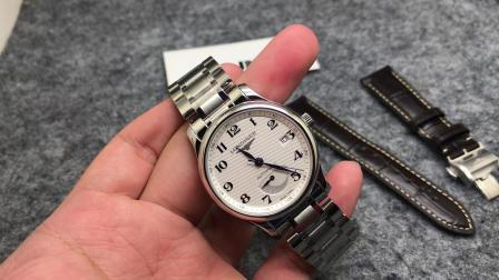 OU腕表 GS 浪琴名匠动能显示 制表传统 大嘴名匠