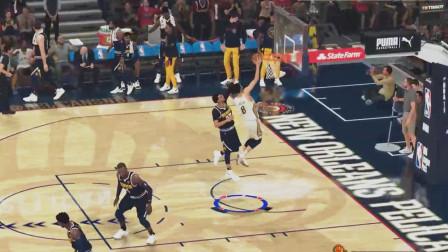 亚当熊NBA2K20 传奇经理07:鹈鹕的年轻让他们付出了代价!