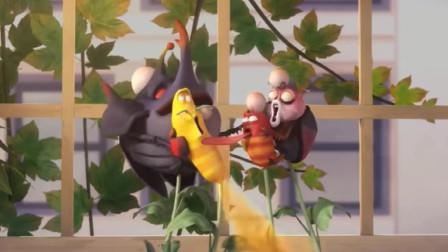 冤冤相报何时了,爆笑虫子家族和豌豆的有趣故事!游戏