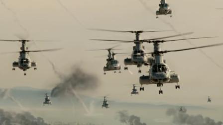 洛杉矶之战:士兵前往战场有多危险?坐在直升机上都不安全,可怕