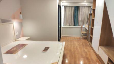 参观38㎡单身公寓,现代简约风格装修,户型虽小该有的都有