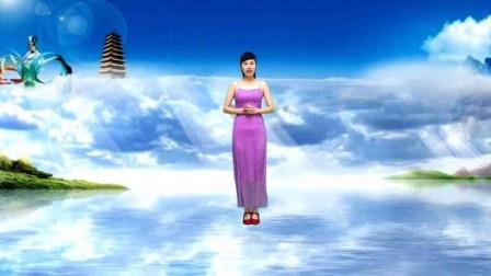 简单易学广场舞视频《美丽的七仙女》歌暖心,舞简单附分解