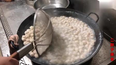 河南大烩菜白丸子是怎么制作的不用猪肉不油炸快点收藏吧