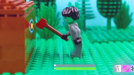 乐高Lego:和朋友一起玩堡垒之夜 睡着了还能拿第一